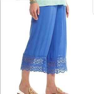NWOT Matilda Jane Linen Festival Pants Size Med